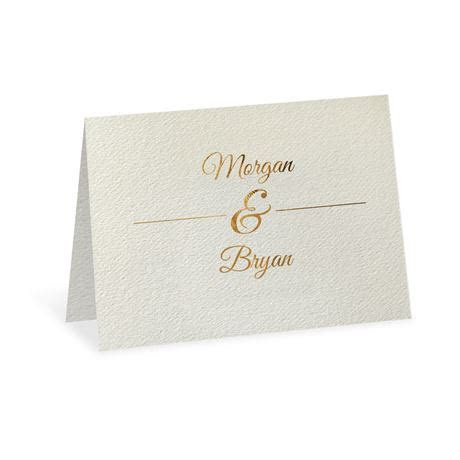 Layers of Luxury Gold Foil Thank You Card   Invitations By