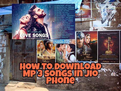 jio phone mp song   steps