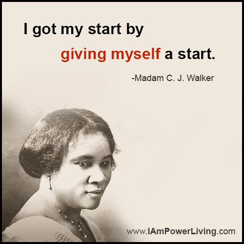 Give Yourself A Start Power Living Today
