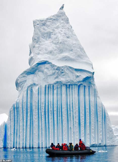 παγόβουνα με ρίγες