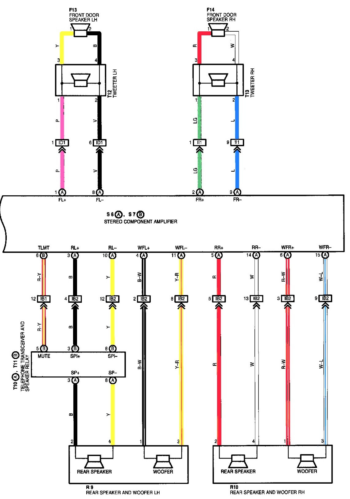 Wiring Diagram For Lexu Is200 Stereo