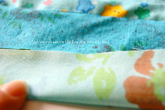 Tutorial: quilt self binding step 3