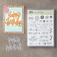 Happy Birthday Gorgeous Photopolymer Bundle
