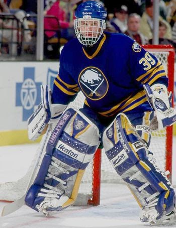 Third String Goalie 1993 94 Buffalo Sabres Dominik Hasek Jersey
