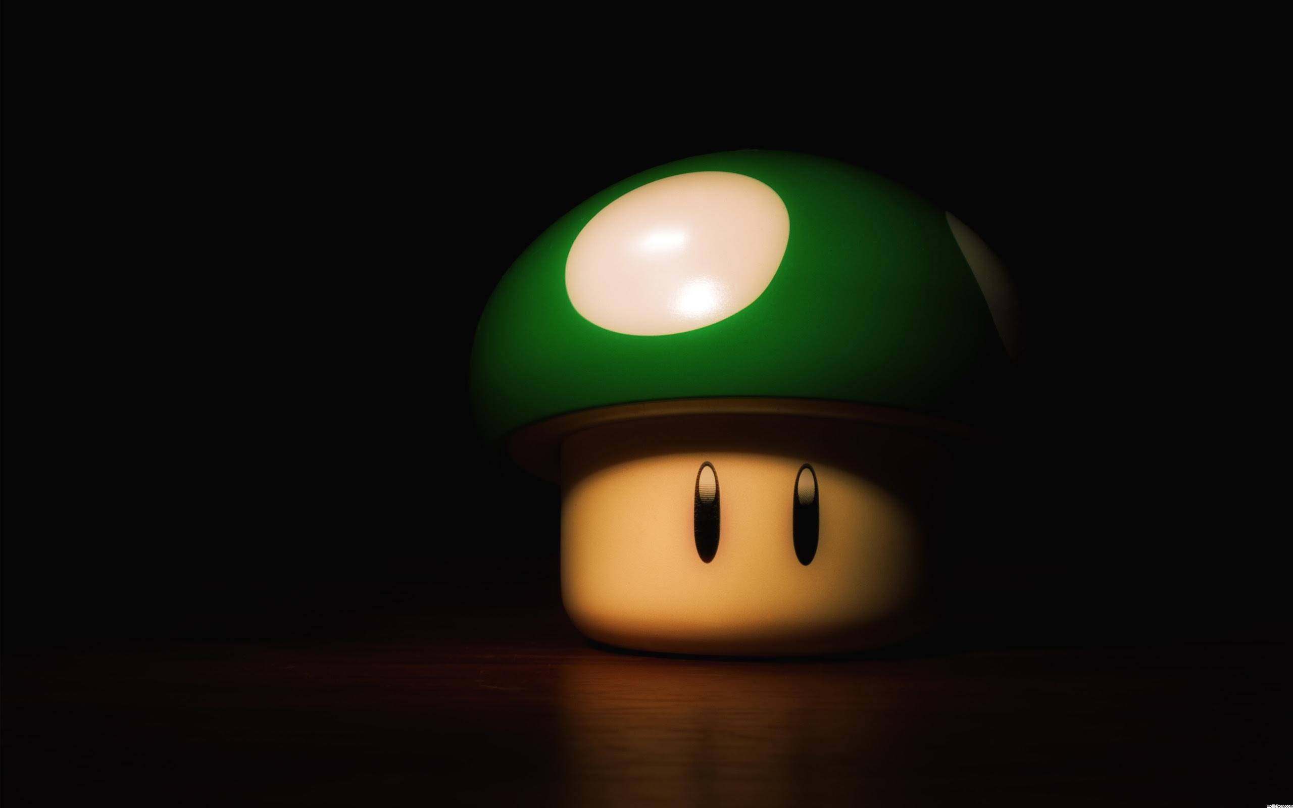 Mario Mushroom Hd Wallpaper 2560x1600 25715