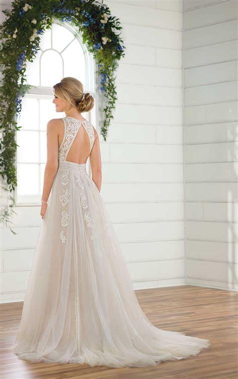 ESSENSE OF AUSTRALIA D2607 A LINE WEDDING DRESS