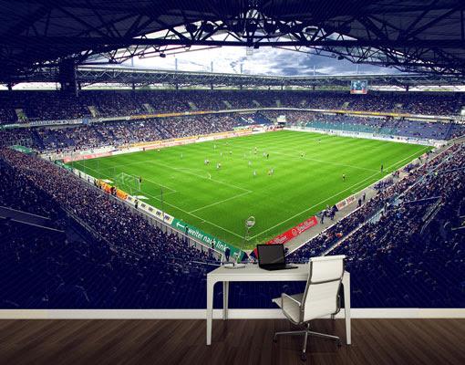 Details zu Vlies FotoTapete MSV Duisburg® Stadion und Fans Foto ...