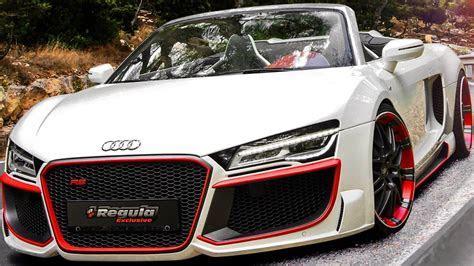 Regula Tuning Audi R8 V10 Spyder 2014 aro 20 5.2 525 cv   YouTube