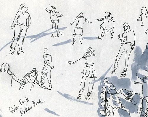 Oaks Park SketchCrawl