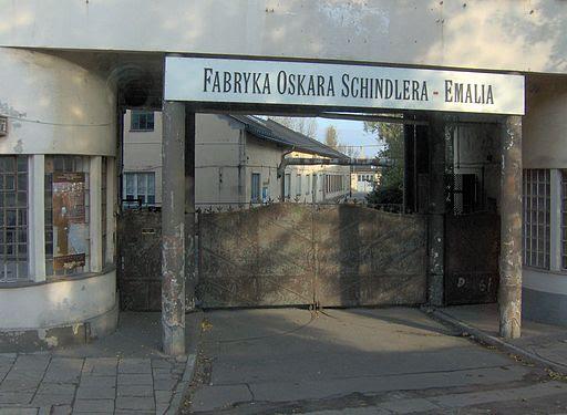Oskar Schindler enamel factory in Kraków