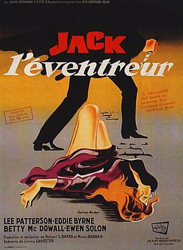 jack the ripper 1959 french poster