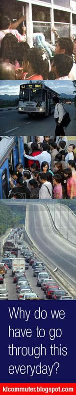 Why do we have to go through this everyday? klcommuter.blogspot.com