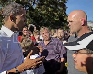 Obama and Joe The Plumber