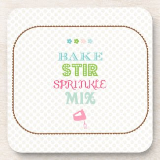 Baking Fun Coaster