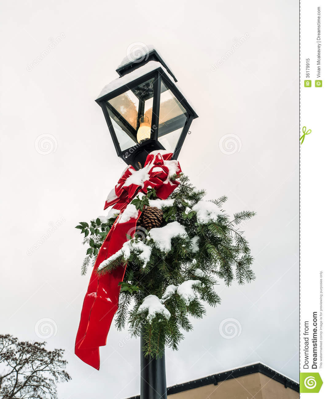 christmas decoration lamp post comproxy comproxy