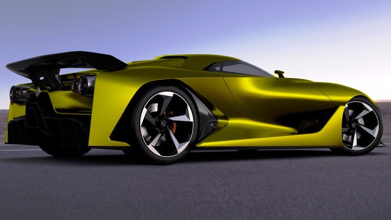 2014 Nissan NC2020 Vision Gran Turismo in Nine New Colors