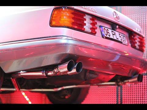 Mercedes Benz V8 5.0 500 Sec Esa Custom Performans Egzoz Sistemi