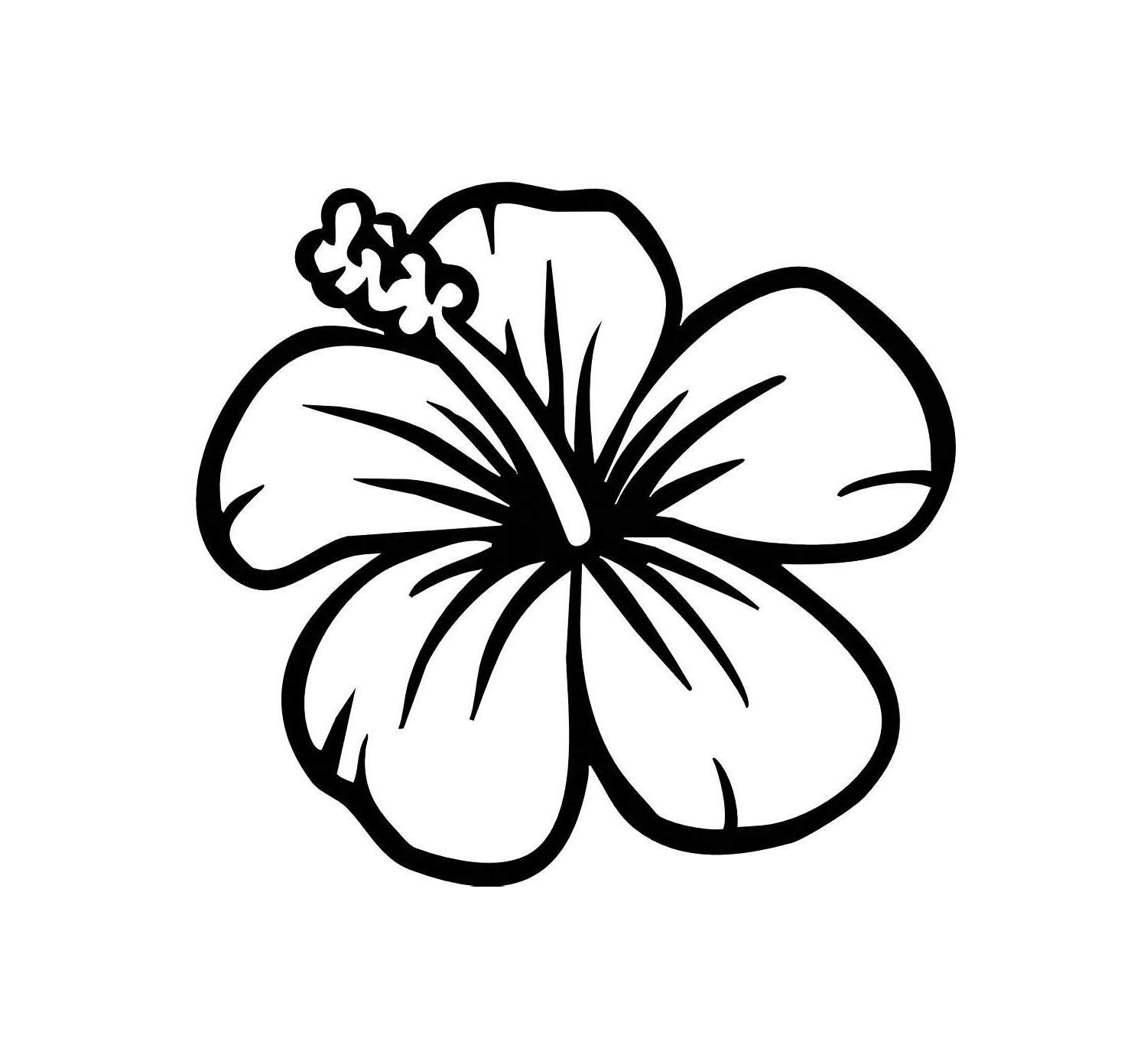 Easy Flowers To Draw Clipart Best