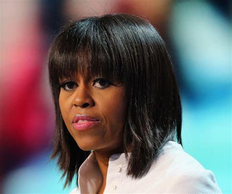 Michelle Obama 2013 Medium Straight hair   BakuLand