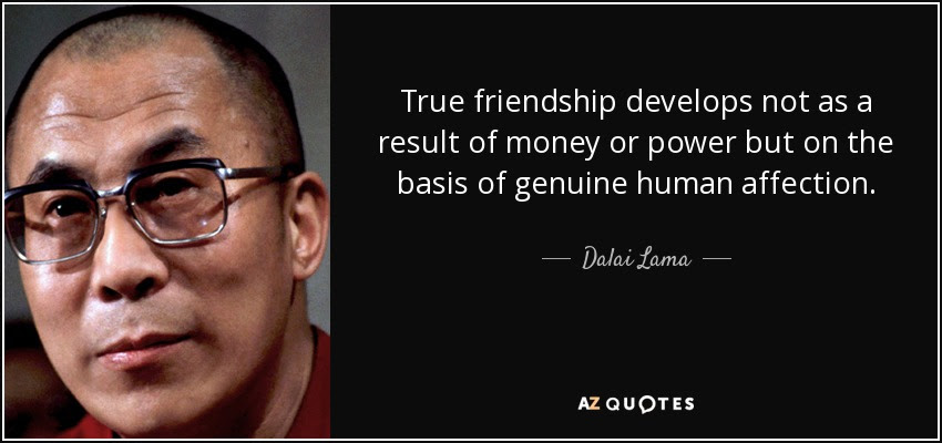 Image result for dalai lama on friendship