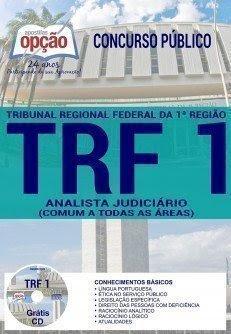 Apostila Concurso TRF 1ª Região 2017   ANALISTA JUDICIÁRIO (CONTEÚDO COMUM A TODAS AS ÁREAS)