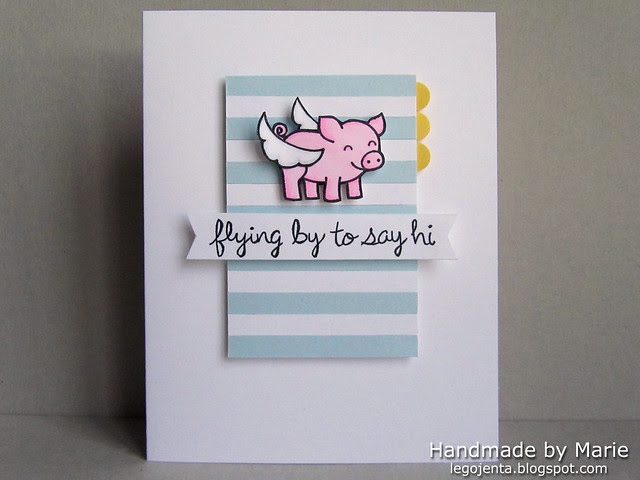 Flying Pig Card