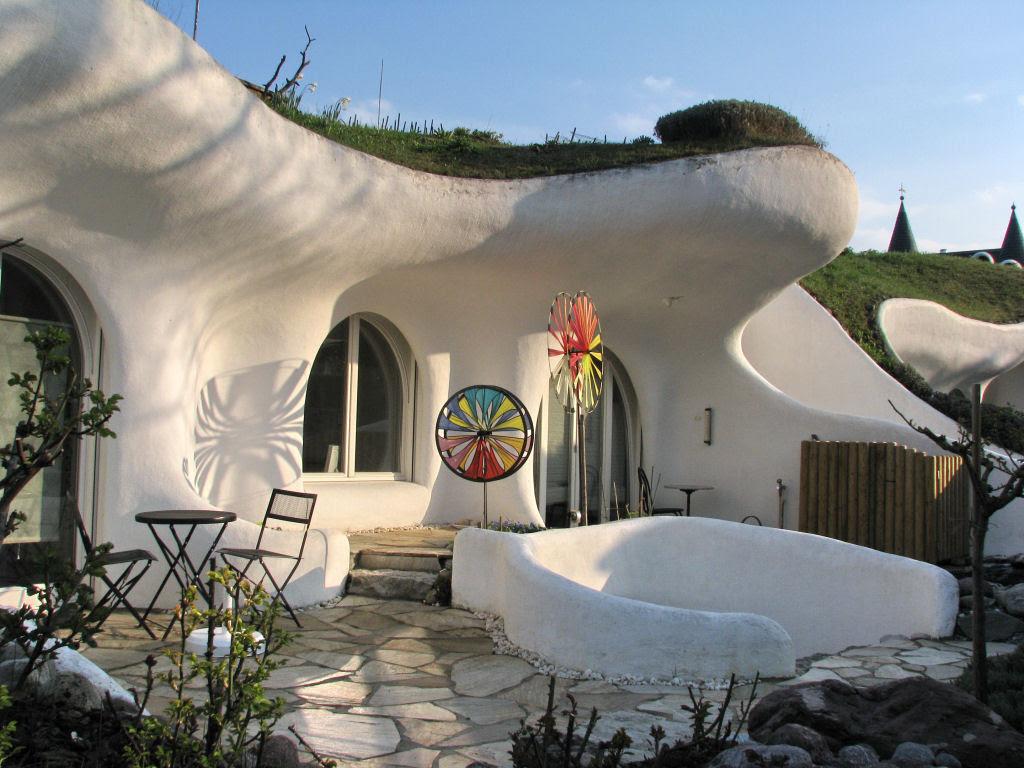 Casa oásis oculta sobre a terra na Suíça 11