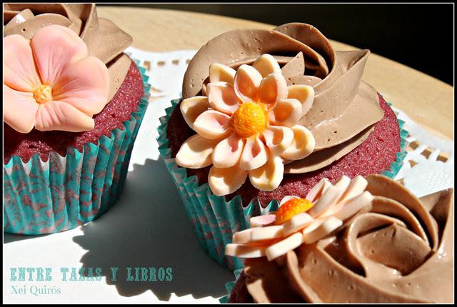 cupcakes con margaritas