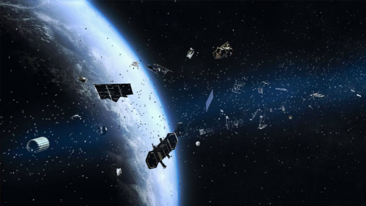 The rising amount of debris is a cause for concern as the man-made objects orbiting the Earth can lead to dangerous collisions with space vehicles. Image credit: University of Miami