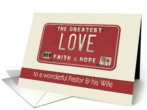 to my pastor & wife, happy valentine's day, love is the