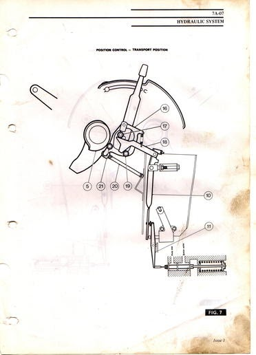 Massey Ferguson 135 Power Steering Diagram