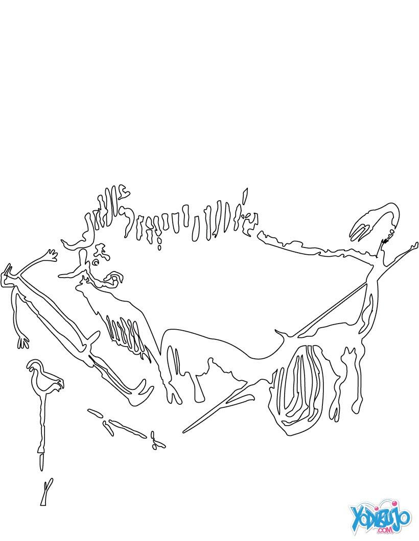 Dibujos Para Colorear Etapas De La Evolucion Humana Eshellokidscom