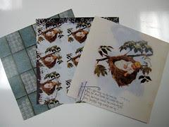 Storybook Grunge Scrapbook Paper!