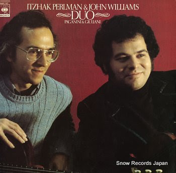 PERLMAN, ITZHAK / JOHN WILLIAMS duo