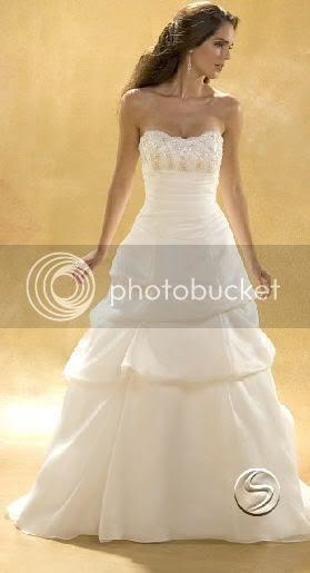 Vestidos para novias: Vestido de novia Strapless