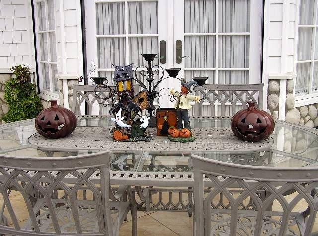 Halloween Patio Decorating Ideas