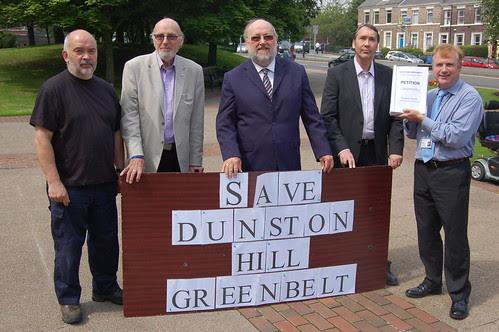Dunston Hill petition Jul 12 12