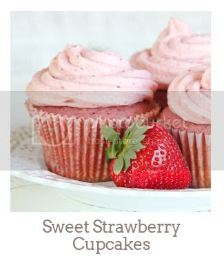 """Sweet Strawberry Cupcakes"""