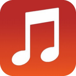 The music app icon for iOS