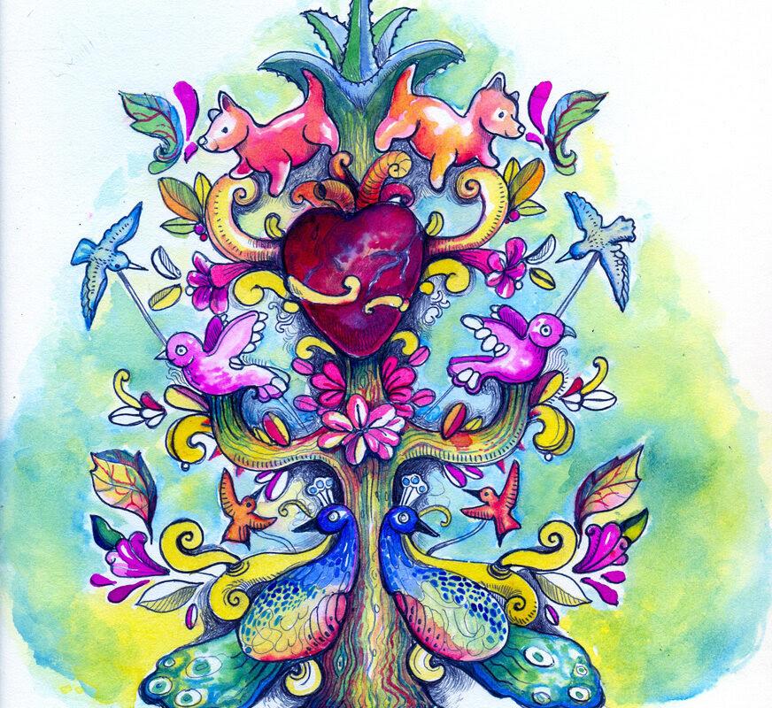 Crea Un árbol De La Vida En El Museo At Doloresolmedo Arte Y Cultura