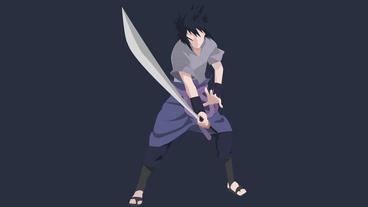 Flat Design / Minimalist Sasuke Uchiha by Joosherino on ...