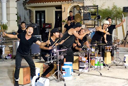 Phuket Street Show Drummers