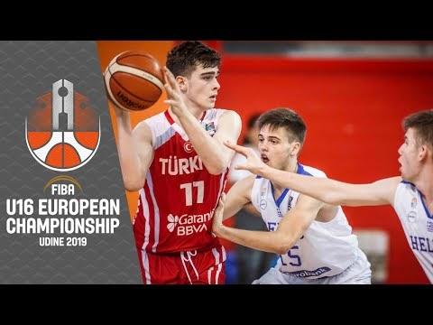 Ελλάδα-Τουρκία για την πέμπτη θέση στο Ευρωπαϊκό Παίδων, ζωντανά στις 15:15 από το Ούντινε