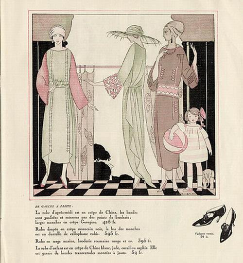 Umberto Brunelleschi, Les Modes Elegantes, 1922