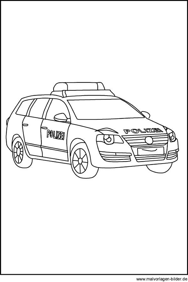 ambulanz feuerwehr polizei  ausmalbilder