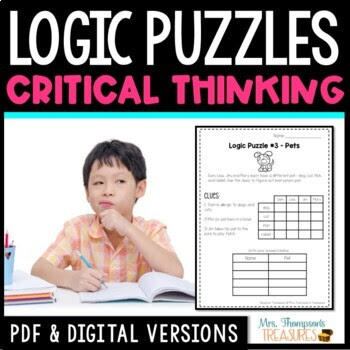 Logic Puzzles Galore -  Reading Comprehension & Critical T