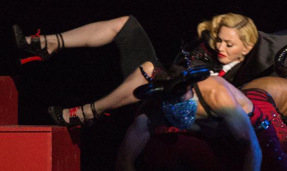 La caída de Madonna