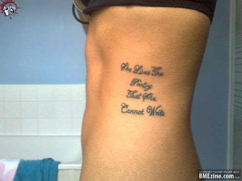 Beauty Tattoo Ideas Quotes On Life Tattoomagz