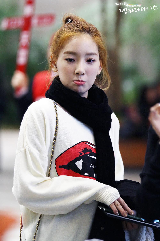 Cute Pouty Taeyeon Snsd