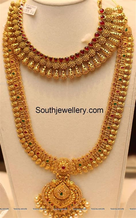 mango mala designs   Jewels in 2019   Gold jewellery